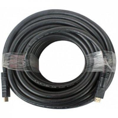 Кабель HDMI Gembird CC-HDMI4-30M 30м, v1.4 (CC-HDMI4-30M)Кабели HDMI Gembird<br>Кабель HDMI Gembird/Cablexpert, 30м, v1.4, 19M/19M, черный, позол.разъемы, экран, пакет  CC-HDMI4-30<br>