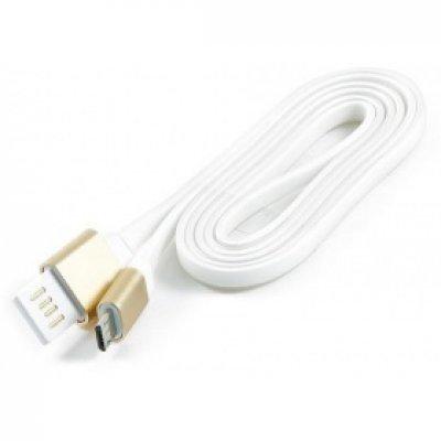 Кабель USB Gembird 2.0 CC-mUSBgd1m 1м (CC-mUSBgd1m) кабель usb 2 0 am microbm 1м gembird золотистый металлик cc musbgd1m