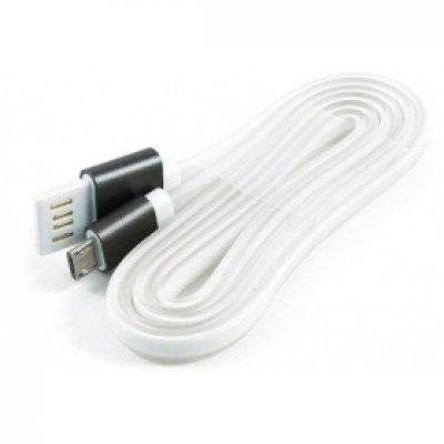 Кабель USB Gembird 2.0 CC-mUSBgy1m 1м (CC-mUSBgy1m) кабель usb 2 0 am microbm 1м gembird золотистый металлик cc musbgd1m