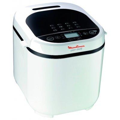 Хлебопечь Moulinex OW 210130 (OW 210130)Хлебопечи Moulinex<br>хлебопечка<br>вес выпечки 1000 г<br>вес выпечки регулируется<br>выпечка в форме буханки<br>выбор цвета корочки<br>12 автоматических программ<br>быстрая выпечка<br>варка джема<br>ржаной хлеб<br>