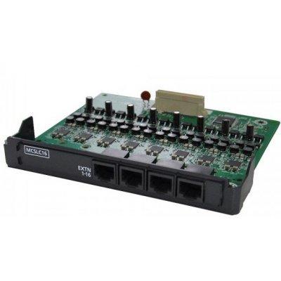 Плата расширения Panasonic KX-NS5174X (KX-NS5174X)Платы расширения Panasonic<br>Плата расширения Panasonic KX-NS5174X 16-портовая плата аналоговых внутренних линий (MCSLC16)(PRI30/E1)<br>