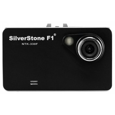 Видеорегистратор Silverstone F1 NTK-330F (NTK-330 F) видеорегистратор mystery mdr 840hd 1 5 1920x1080 5mp 120° microsd microsdhc hdmi