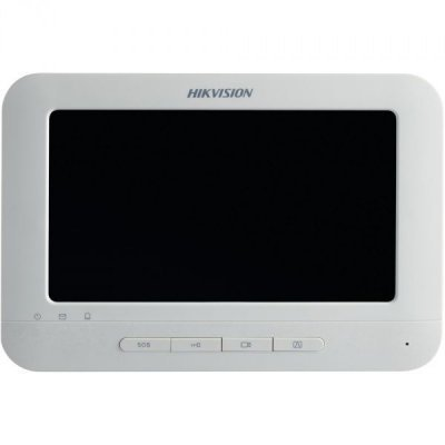 Видеодомофон Hikvision DS-KH6310 (DS-KH6310) hikvision ds 2ce56d5t vfir белый
