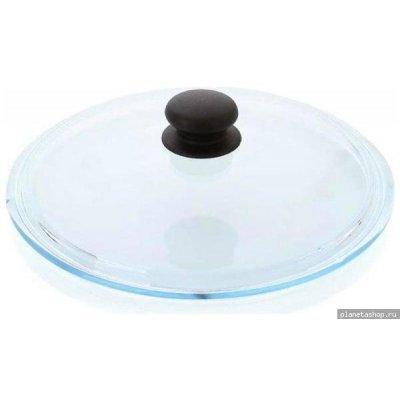 Крышка для кастрюль и сковородок Нева-Металл 42024 24см стеклянная (42024)Крышки для кастрюль и сковородок Нева-Металл<br><br>
