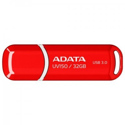 USB накопитель A-Data AUV150-32G-RRD (AUV150-32G-RRD) накопитель ssd a data adata ultimate su800 512gb asu800ss 512gt c