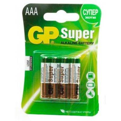 Аккумуляторная батарейка ААА GP 24A-CR4 4шт. (GP24A-CR4) блендер vitesse vs 223 2017
