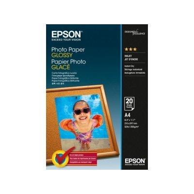 Бумага для принтера Epson Photo Paper Glossy 200г/м A4(21x29.7)/20л (C13S042538)