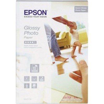 Бумага для принтера Epson Glossy Photo Paper 10 x15 50 sheets (C13S042176)Бумага для принтера Epson<br>Glossy Photo Paper 10x15 50sheets<br>