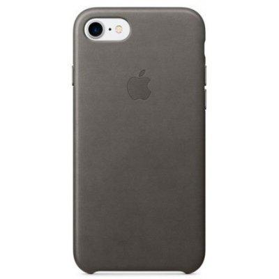 Чехол для смартфона Apple iPhone 7 Leather Case Storm Gray (MMY12ZM/A)Чехлы для смартфонов Apple<br>Чехол для смартфона Apple iPhone 7 Leather Case Storm Gray<br>