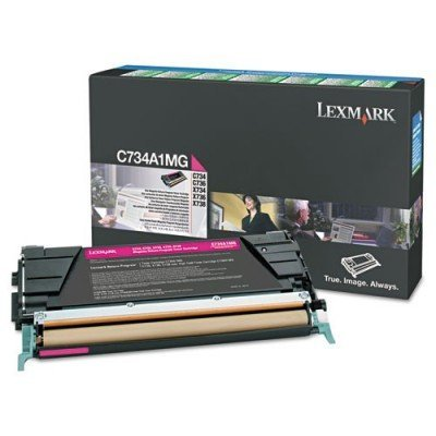 Тонер-картридж для лазерных аппаратов Lexmark c пурпурным тонером X746/X748, 7K (LRP) (X746A1MG)Тонер-картриджи для лазерных аппаратов Lexmark<br>Картридж с пурпурным тонером X746, X748, 7K (LRP)<br>
