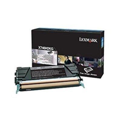 Тонер-картридж для лазерных аппаратов Lexmark для X746, X748 , чёрный, (12K) (X746H3KG)Тонер-картриджи для лазерных аппаратов Lexmark<br>Картридж с тонером высокой ёмкости для X746, X748 , чёрный, (12K)<br>