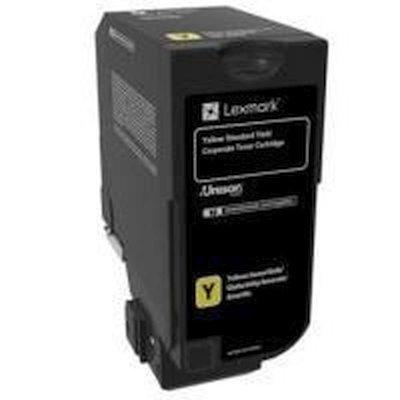 Тонер-картридж для лазерных аппаратов Lexmark желтый для CX725de, CX725dhe, CS725de, CS720de (7000 стр.) (74C5SYE)Тонер-картриджи для лазерных аппаратов Lexmark<br>Картридж с тонером желтого цвета стандартной емкости для организаций (7000 стр.) для CX725de, CX725dhe, CS725de, CS720de<br>