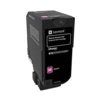 Тонер-картридж для лазерных аппаратов Lexmark пурпурный для CX725de, CX725dhe, CS725de, CS720de (7000 стр.) (74C5SME)Тонер-картриджи для лазерных аппаратов Lexmark<br>Картридж с тонером пурпурного цвета стандартной емкости для организаций (7000 стр.) для CX725de, CX725dhe, CS725de, CS720de<br>