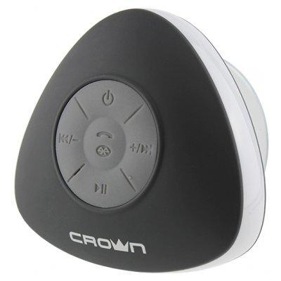 Портативная акустика Crown CMBS-302 (CM000001354, CMBS-302)Портативная акустика Crown<br>портативная акустика моно<br>мощность 3 Вт<br>питание от батарей, от USB<br>Bluetooth<br>влагозащищенный корпус<br>