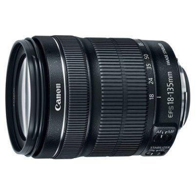 Объектив для фотоаппарата Canon EF-S 18-135mm f/3.5-5.6 IS STM (6097B005) объектив canon ef 50 mm f 1 8 stm