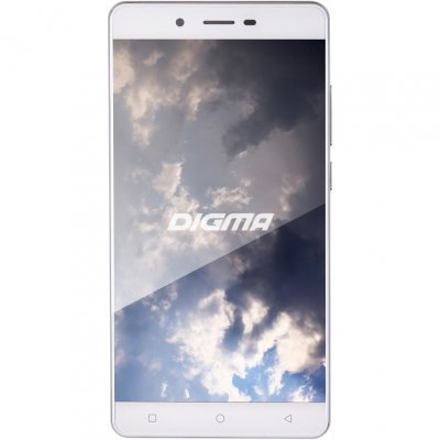 Смартфон Digma S502 4G VOX 8Gb белый (VS5013ML) смартфон digma vox s502 3g 8gb grey