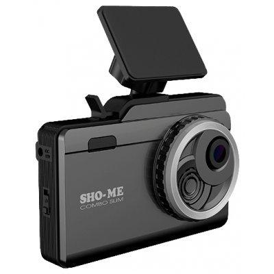 Видеорегистратор Sho-Me Combo Slim (COMBO SLIM)Видеорегистраторы Sho-Me<br>видеорегистратор<br>угол обзора 130°<br>с экраном 3.5<br>датчик удара (G-сенсор), GPS<br>работа от аккумулятора<br>поддержка карт памяти microSD (microSDXC)<br>встроенный микрофон<br>