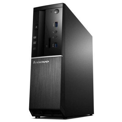 Настольный ПК Lenovo IdeaCentre 510S-08ISH SFF (90FN00B8RS) (90FN00B8RS)Настольные ПК Lenovo<br>ПК Lenovo IdeaCentre 510S-08ISH SFF i3 6100 (2.41)/4Gb/1Tb/HDG530/DVDRW/Free DOS/Eth/65W/черный<br>