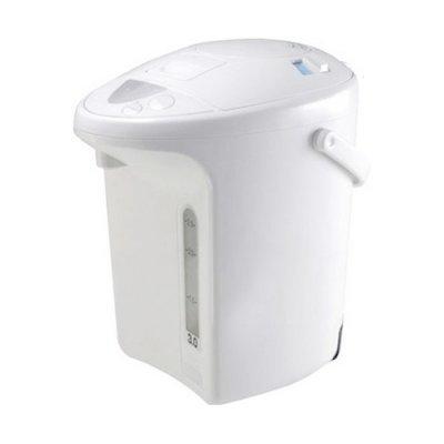 Термопот Panasonic NC-PH30ZTW (NC-PH30ZTW)Термопоты Panasonic<br>термопот<br>объем 3 л<br>мощность 700 Вт<br>закрытая спираль<br>пластиковый корпус<br>выбор температуры нагрева воды<br>вес 1.81 кг<br>