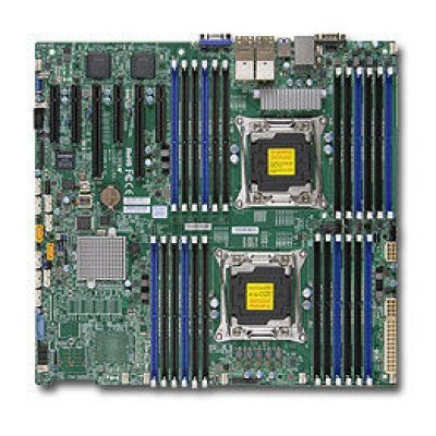 Материнская плата сервера SuperMicro MBD-X10DRI-LN4+-B (MBD-X10DRI-LN4+-B)