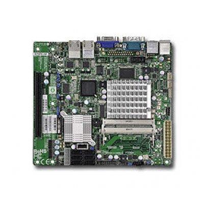 Материнская плата сервера SuperMicro MBD-X7SPE-HF-D525-B (MBD-X7SPE-HF-D525-B)Материнские плата серверов SuperMicro<br>Материнская Плата SuperMicro MBD-X7SPE-HF-D525-B ICH9R FlexATX 2xDDR3 6xSATAII SATA RAID i82574L 2хGgbEth bulk<br>