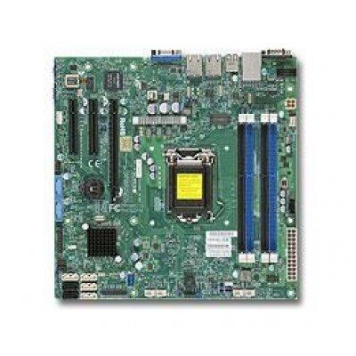 Материнская плата сервера SuperMicro MBD-X10SLM-F-B (MBD-X10SLM-F-B)Материнские плата серверов SuperMicro<br>Материнская Плата SuperMicro X10SLM-F Soc-1150 iC224 mATX 4xDDR3 2xSATAII 4xSATA3 i210AT/i217LM 2хGgbEth bulk<br>