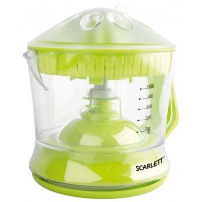 Соковыжималка Scarlett SC-JE50C04 зеленый (SC-JE50C04)