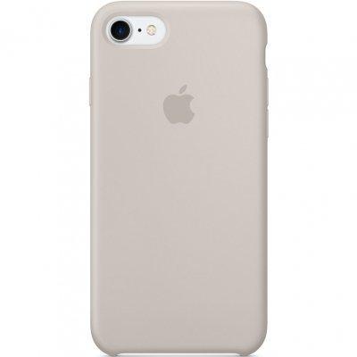 Чехол для смартфона Apple iPhone 7 Silicone Case - Stone (MMWR2ZM/A)Чехлы для смартфонов Apple<br>Чехол для смартфона Apple iPhone 7 Silicone Case - Stone<br>