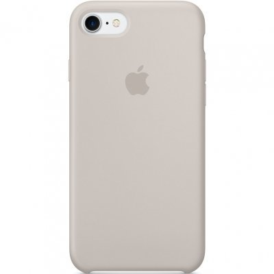 Чехол для смартфона Apple iPhone 7 Silicone Case - Stone (MMWR2ZM/A)