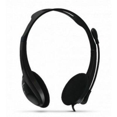 Компьютерная гарнитура Crown CMH-100 черный (CM000000453, CMH-100) цены онлайн