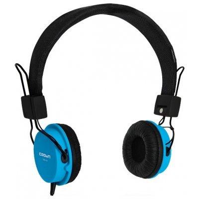Компьютерная гарнитура Crown CMH-951 синий (CM000000525, CMH-951 (blue))Компьютерные гарнитуры Crown<br>компьютерная гарнитура<br>с накладными наушниками<br>крепление при помощи оголовья<br>встроенный регулятор громкости<br>подключение: 2 x mini jack 3.5 mm<br>