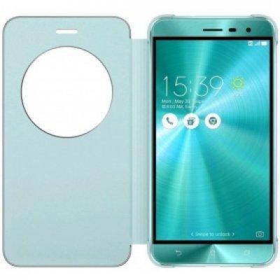 Чехол для смартфона ASUS для ZenFone 3 ZE552KL View Flip Cover голубой (90AC0160-BCV012) (90AC0160-BCV012) чехол книжка asus view flip для zenfone 3 zc551kl