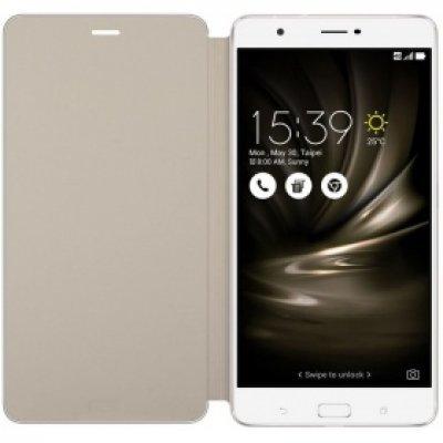 Чехол для смартфона ASUS для ZenFone 3 Ultra ZU680KL Folio Cover золотистый (90AC01I0-BCV002) (90AC01I0-BCV002) asus zenfone zoom zx551ml 128gb 2016 black