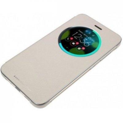 Чехол для смартфона ASUS ZenFone 3 Laser ZC551KL View Flip Cover золотистый (90AC01M0-BCV005) (90AC01M0-BCV005)Чехлы для смартфонов ASUS<br>Чехол (флип-кейс) Asus для Asus ZenFone ZC551KL View Flip Cover золотистый (90AC01M0-BCV005)<br>