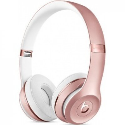 Bluetooth-гарнитура Beats Solo3 Wireless 1.36м розовое золото (MNET2ZE/A) аудио наушники beats гарнитура beats solo 2 luxe edition ml9g2ze a накладные красный проводные