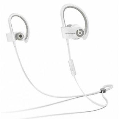 Bluetooth-гарнитура Beats Powerbeats 2 WL белый (MHBG2ZE/A)Bluetooth-гарнитуры Beats<br>Наушники Beats Powerbeats 2 WL белый беспроводные bluetooth (в ушной раковине)<br>