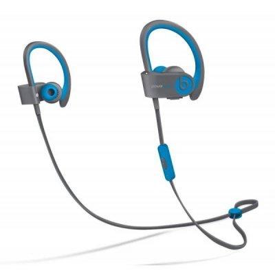 Bluetooth-гарнитура Beats Powerbeats 2 WL Active Collection светло-голубой/серый (MKQ02ZE/A)Bluetooth-гарнитуры Beats<br>Гарнитура Beats Powerbeats 2 WL Active Collection светло-голубой/серый беспроводные bluetooth (в ушной раковине)<br>