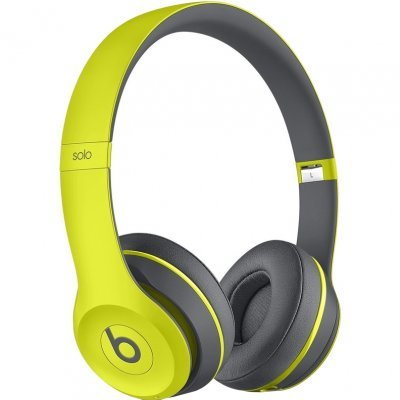 Bluetooth-гарнитура Beats Solo 2 WL SE2 Active Collection 1.361м желтый (MKQ12ZE/A)