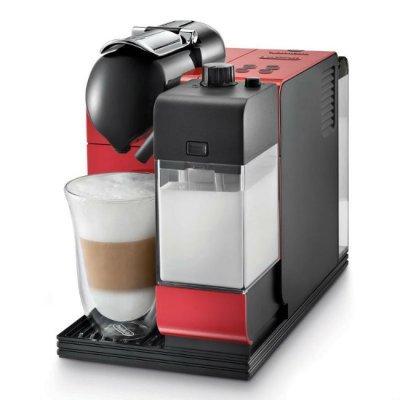 Кофемашина Delonghi EN 521.R (EN521.R)Кофемашины Delonghi<br>Кофемашина Delonghi Nespresso Latissima EN521.R 1300Вт красный<br>