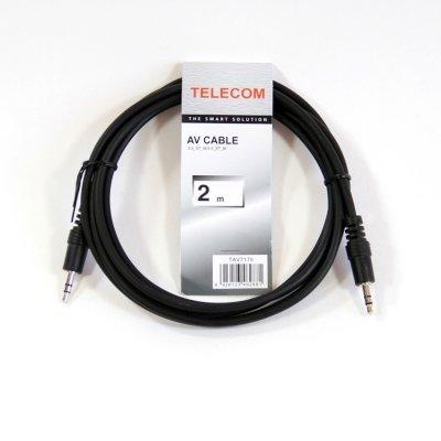 Кабель аудио 3,5 мм Telecom TAV7175-2M 2м (TAV7175-2M) usb кабель smartbuy кабель соединительный smartbuy 3 5 jack m 3 5 jack m ka335 5м 3 5 мини джек черный