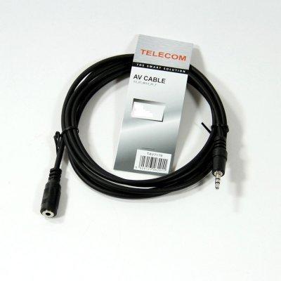 Кабель аудио 3,5 мм Telecom TAV7179-3M 3м (TAV7179-3M) стерео кабель jack 3 5 jack 3 5 5м