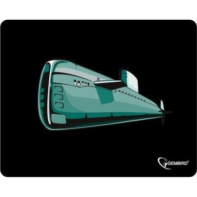 Коврик для мыши Gembird MP-GAME7 подводная лодка (MP-GAME7)Коврики для мыши Gembird<br>Коврик для мыши Gembird MP-GAME7, рисунок- подводная лодка, размеры 250*200*3мм<br>