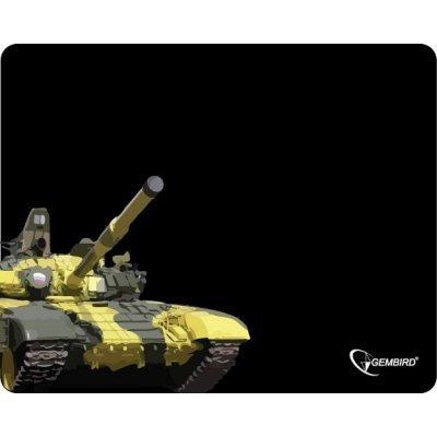Коврик для мыши Gembird MP-GAME13 танк (MP-GAME13)Коврики для мыши Gembird<br>Коврик для мыши Gembird MP-GAME13, рисунок- танк, размеры 437*350*3мм<br>