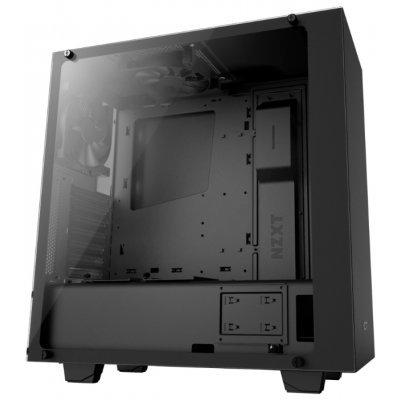 Корпус системного блока NZXT S340 Elite Black (CA-S340W-B3) корпус nzxt s340 black