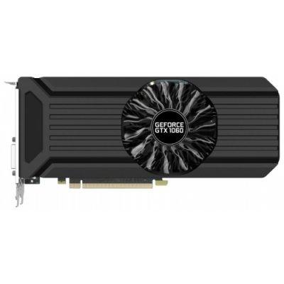 Видеокарта ПК Palit GeForce GTX 1060 1506Mhz PCI-E 3.0 3072Mb 8000Mhz 192 bit DVI HDMI HDCP StormX (NE51060015F9-1061F)