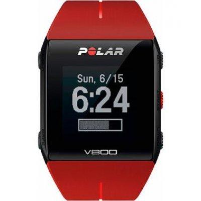 Умные часы Polar V800 HR красный (90060774)