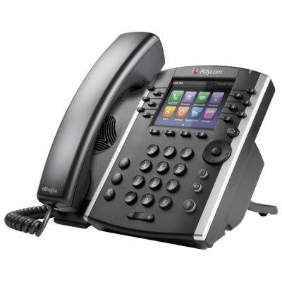 VoIP-телефон Polycom VVX 400 (2200-46157-025) (2200-46157-025)VoIP-телефоны Polycom<br>VoIP-телефон<br>протоколы связи: SIP<br>громкая связь (Hands Free)<br>подключение гарнитуры<br>встроенный цветной LCD-дисплей<br>порты: WAN, LAN<br>