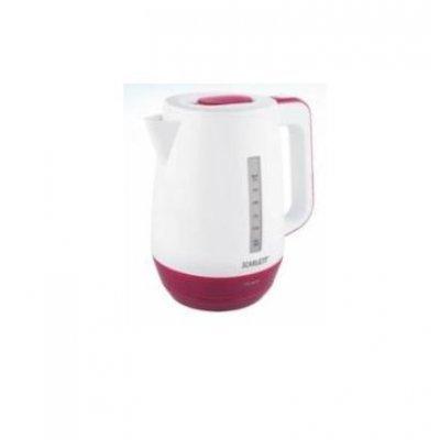 Электрический чайник Scarlett SC-EK18P39 (SC-EK18P39)Электрические чайники Scarlett<br>чайник<br>объем 1.7 л<br>мощность 2200 Вт<br>закрытая спираль<br>установка на подставку в любом положении<br>пластиковый корпус<br>индикация включения<br>вес 0.8 кг<br>