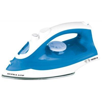 Утюг Supra IS-2750P синий/белый ( IS-2750P) утюг supra is 0500p 1700вт бело синий