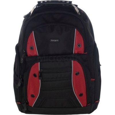Рюкзак для ноутбука Targus TSB23803EU-70 черный/красный (TSB23803EU-70)Рюкзаки для ноутбуков Targus<br>Рюкзак для ноутбука 16 Targus TSB23803EU-70 черный/красный полиэстер<br>